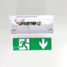 8W LED Emergency Sensor IP65 LED Bulkhead Light
