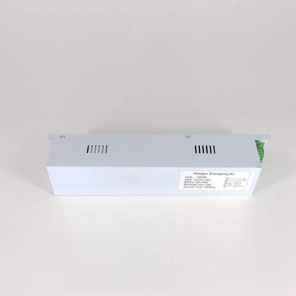 Special Design 12V LED Emergency Driver For MR16 Spotlight includes green LED Status light and optional